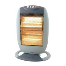 Lloytron Staywarm 1200w 3 Bar Halogen Heater - Grey (F2103GR)