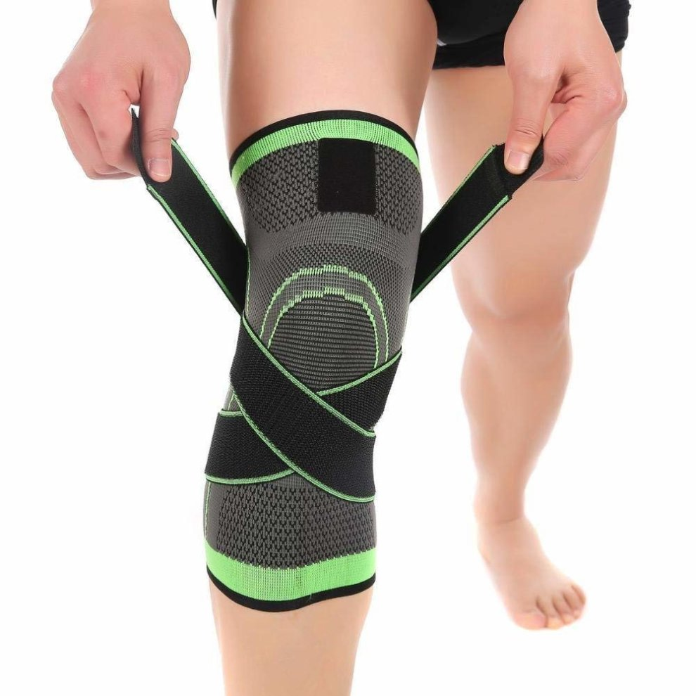Sports protective gear Knee Pad Knee Braces Splints Slings Patellar Tendon Support Strap Band Fully Adjustable Pack of 2 Knee Kneelet Support Brace Pads Protector Fit Running,basketball Outdoor Spor
