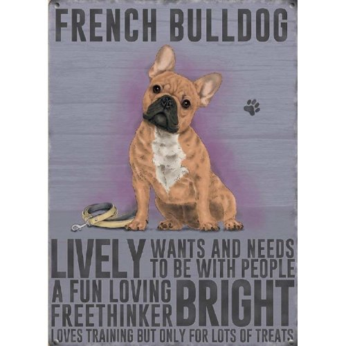 French Bulldog, fridge magnet