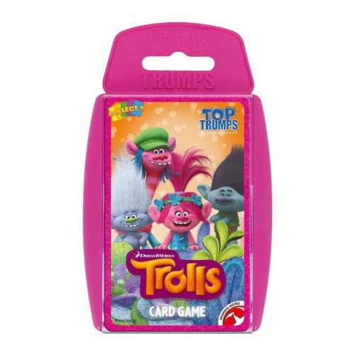Trolls Top Trumps Specials Card Game
