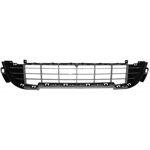 Peugeot 207 5 Door Hatchback  2009-2012 Front Bumper Grille Lower Section With Grey Trim (Sport Models)