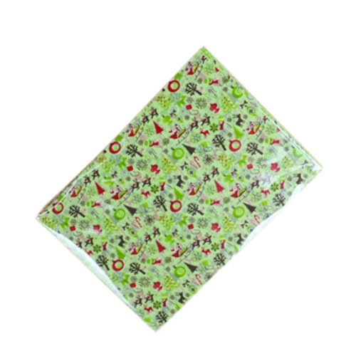 100 Pcs Christmas Nougat Making Supplies Wedding Candy Wrapping Twisting Wax Papers, #06