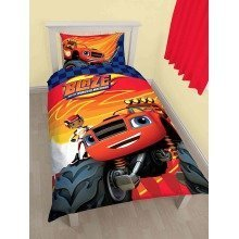 Blaze And The Monster Machines Zoom Single Duvet Cover Set Polycotton