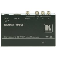 Kramer TP-42 Component & S/PDIF Over CAT5/6 (receiver Only) Clearance Price