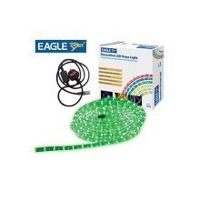 Eagle Static Plug and Play LED Rope Light 9m green