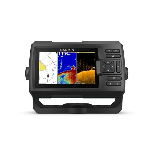 Garmin STRIKER Plus 5CV Colour Sounder Sonar Fish Finder GPS + GT20-TM Trdx