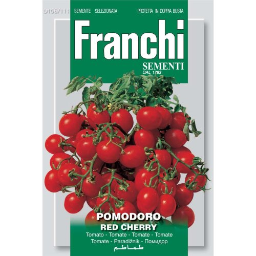 Franchi Seeds of Italy - DBO 106/111 - Tomato - Red Cherry - Seeds