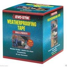Evo-Stick 50mm x 4m weatherproof tape. Seals & protects