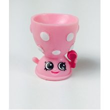 2016 SHOPKINS FIGURES - Edgar Eggcup Pink (RARE) 4-041 SEASON 4 by Moose Toys
