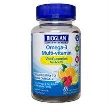 Bioglan Adult Vita Gummies Omega 3 60 Gummies