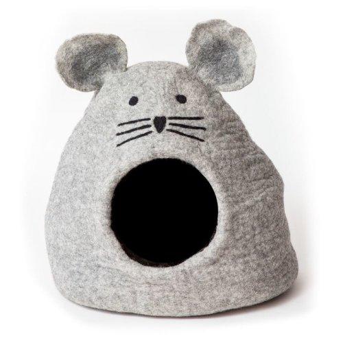 Dog Cat Cave Bed Mouse Design Odour Resistant