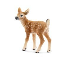 Schleich White-tailed Fawn Model - White Tailed Animal Wild Calf Whitetailed -  schleich fawn white tailed animal wild calf whitetailed deer figure