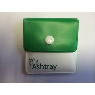 My Ashtray - Green/White