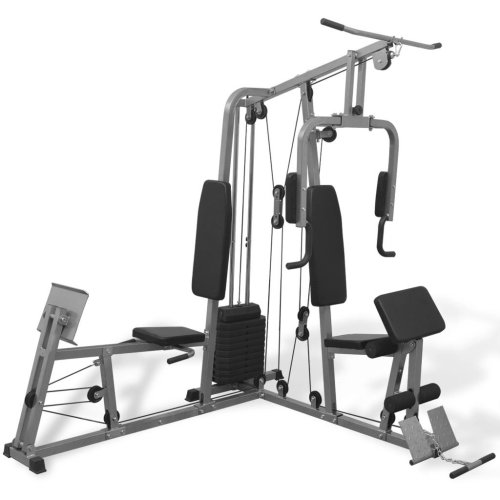 vidaXL Multi-functional Fitness Home Gym All-in-one Strength Trainer Equipment