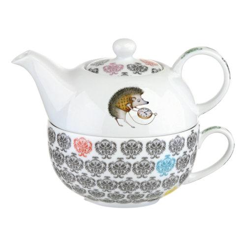 BIA Funimal Tea for One Set, Hedgehog