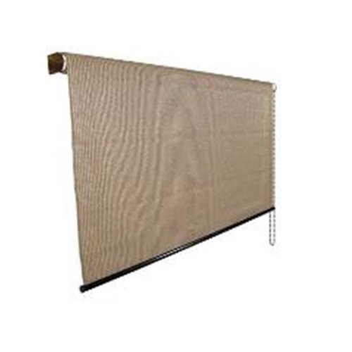 Gale Pacific 462178 Outback 95 Roller Shade 4 x 8 ft., Walnut