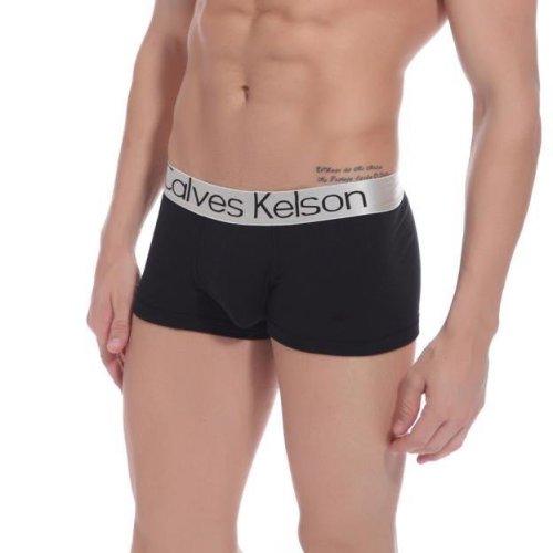 Men Modal Underwear Boxer Briefs Shorts Bulge Pouch soft Underpants BK L