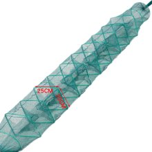Fishing Net Baits Cast Mesh Trap for Small Fish Shrimp Crayfish Crab 2.6m - 8 Holes