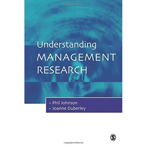Understanding Management Research: An Introduction to Epistemology