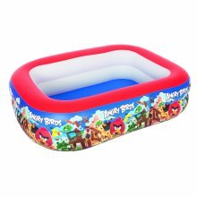 Angry Birds Paddling Play Pool - Bestway Inflatable Above Ground -  angry birds pool play bestway inflatable paddling above ground