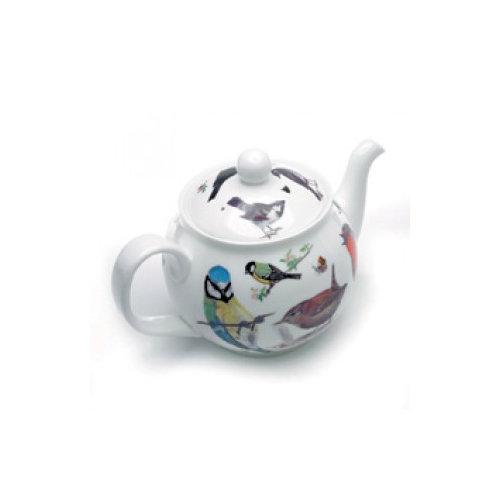 Roy Kirkham Garden Birds Bone China 6 Cup Teapot