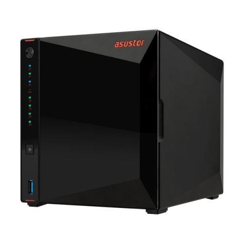 Asustor Nimbustor 4 AS5304T 4-Bay Nas Enclosure Quad Core 2.5Ghz Cpu 4Gb Dd AS5304T