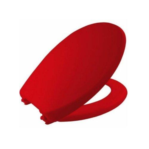 ATLANTIC SPA CHICAGO RED TOILET SEAT