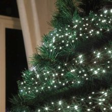 Solar christmas lights, wire 100 led