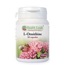 L-Ornithine 500mg x 50 capsules