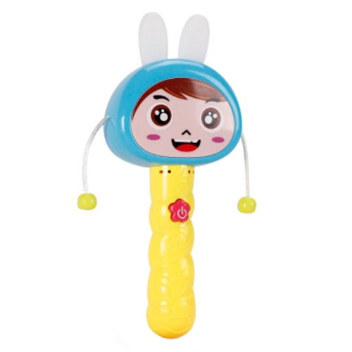 Colorful Durable Hit toy Rattle Drum Baby Toy Music Sound Toy Baby Rattle