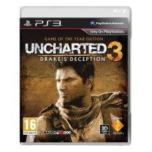 Uncharted 3 Drake's Deception Goty Sony Playstation 3 Ps3 Game Uk