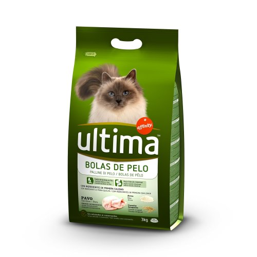 Ultima I Think For Cats To Prevent Hair Balls with Peacock–3000GR