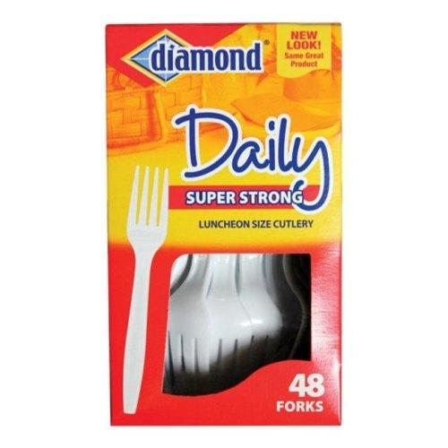 Diamond 4142600115 Plastic Forks - pack of 12