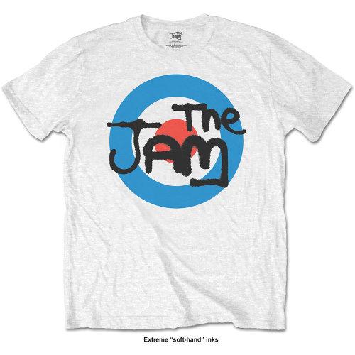 XL White The Jam Spray Logo Men's T-shirt. -  jam tshirt logo white official mens spray new