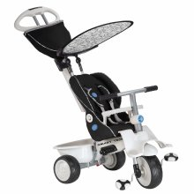smarTrike Recliner Trike Baby Tricycle for 1 Year Old, Black