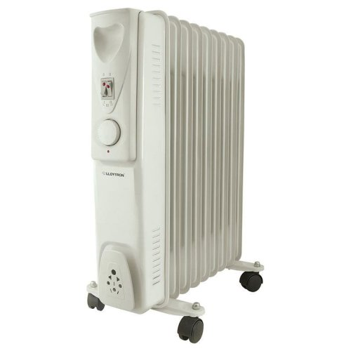 Lloytron Stay Warm 9 Fin Oil Radiator 2000 W - 3 heat settings (F2603GR)