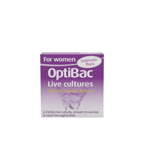 OptiBac For Women - Daily 2.3 Billion CFU Reuteri & Rhamnosus -  14 Capsules