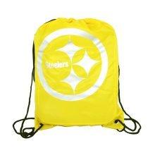 Nfl Pittsburgh Steelers Unisex Foil Print Gym Bag, Multi-colour - Bag Football -  gym bag pittsburgh steelers nfl football fp drawstring official