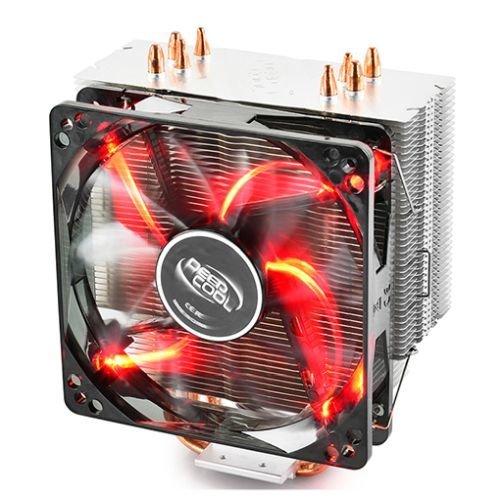 Deepcool Gammaxx 400 Heatsink & Fan, Intel & AMD Sockets, Fluid-dynamic Bearing, Red LED