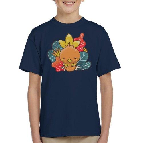 Pokemon Sleeping Torchic Kid's T-Shirt