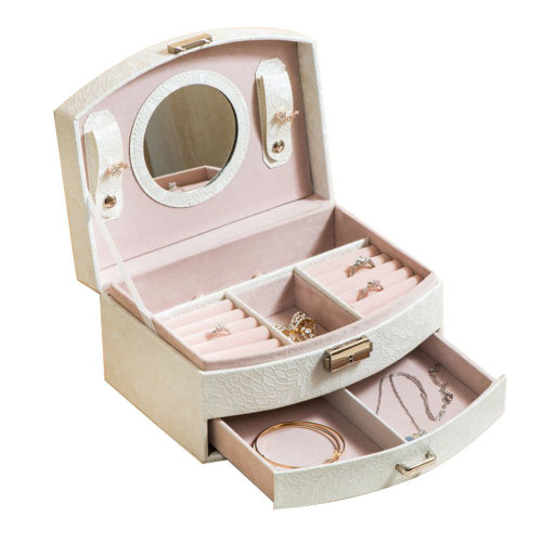 Small Travel Jewelry Box For Ring / Watch / Necklace / Earring -A8