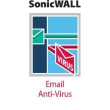 Sonicwall Email AV (Mcafee and Time Zero) 50 user - 1yr