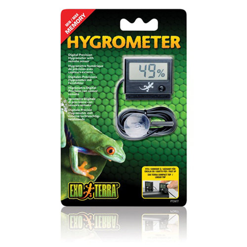 Exo Terra Digital Precision Hygrometer with Probe