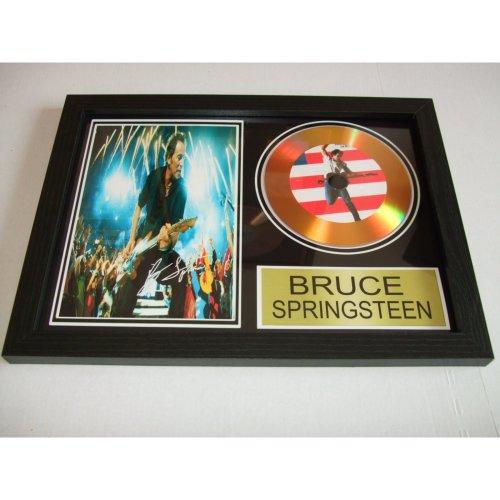 BRUCE SPRINGSTEEN  SIGNED DISC