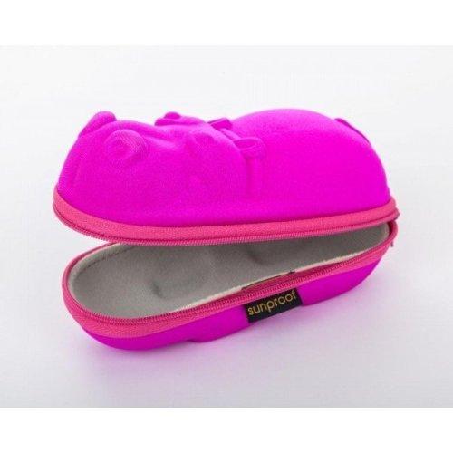 Sunproof Sunglasses Case - Pink Hippo