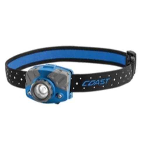 Coast 20617 FL75R Rechargeable Head Lamp, Blue