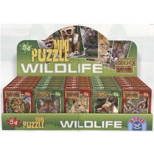 DT60556 - * D-Toys - Mini Puzzle Asso rtment - Wildlife