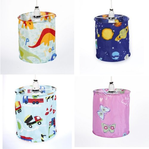 Mucky Fingers Childrens Patterned Lampshade