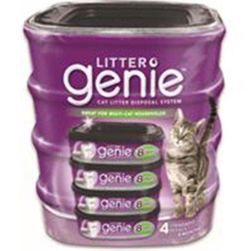 Litter Genie-Cat Litter Disposal System Standard Refill 4 Pack