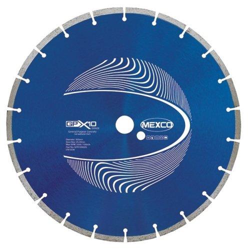 Mexco GPX10 350mm General Purpose Diamond Blade 25.4mm Bore
